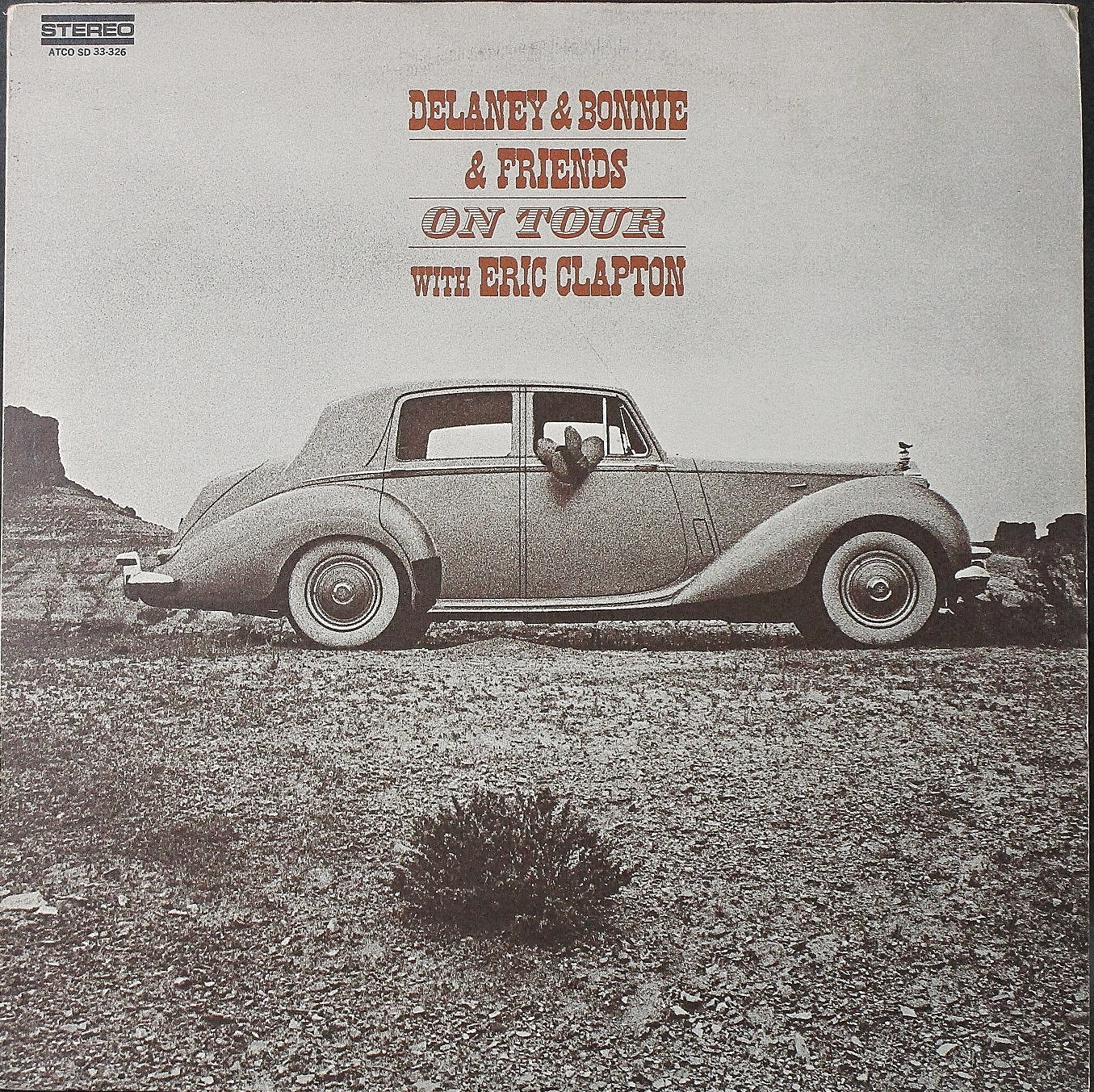 Delaney & Bonnie & Friends With Eric Clapton デラニー& ボニー・ウイズ・エリック・クラプトン / On Tour