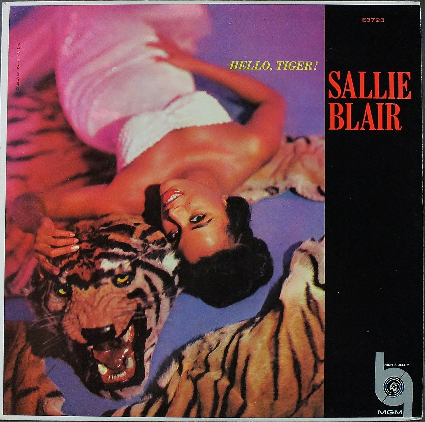 Sallie Blair サリー・ブレアー / Hello, Tiger