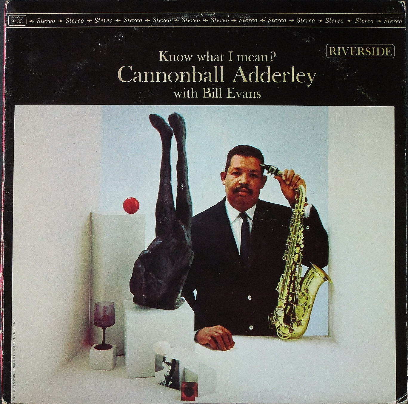 Cannonball Adderley With Bill Evans キャノンボール・アダレイ・ウイズ・ビル・エヴァンス / Know What I Mean?