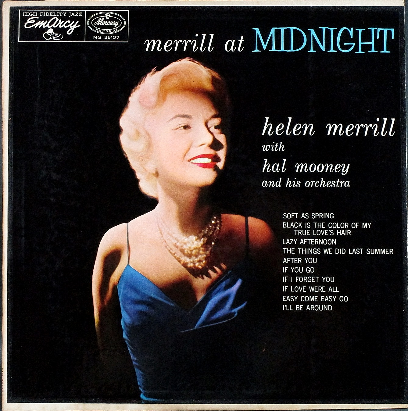 Helen Merrill ヘレン・メリル / Merrill At Midnight