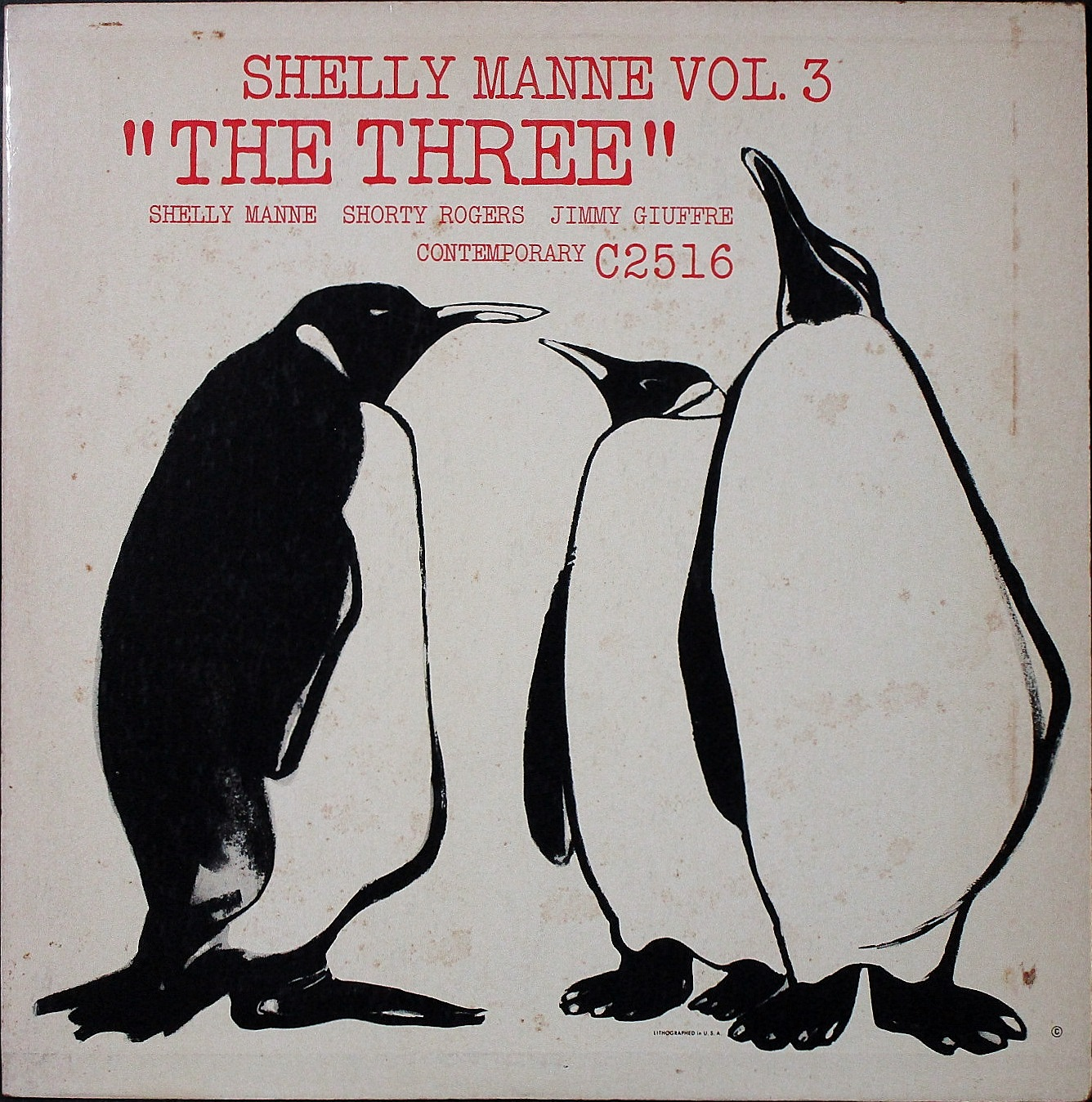 "Shelly Manne シェリー・マン / Shelly Manne Vol. 3: ""The Three"""