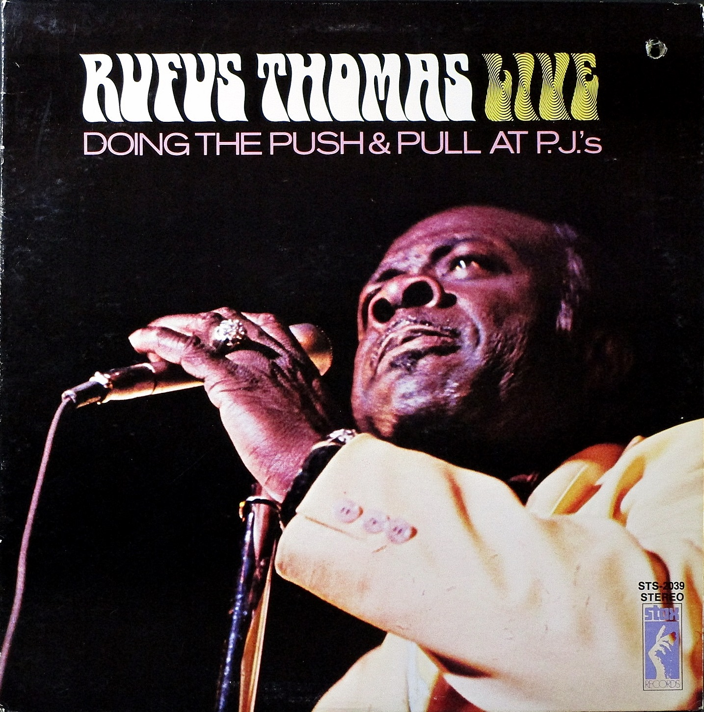 Rufus Thomas ルーファス・トーマス / Rufus Thomas Live Doing The Push & Pull At P.J.'s