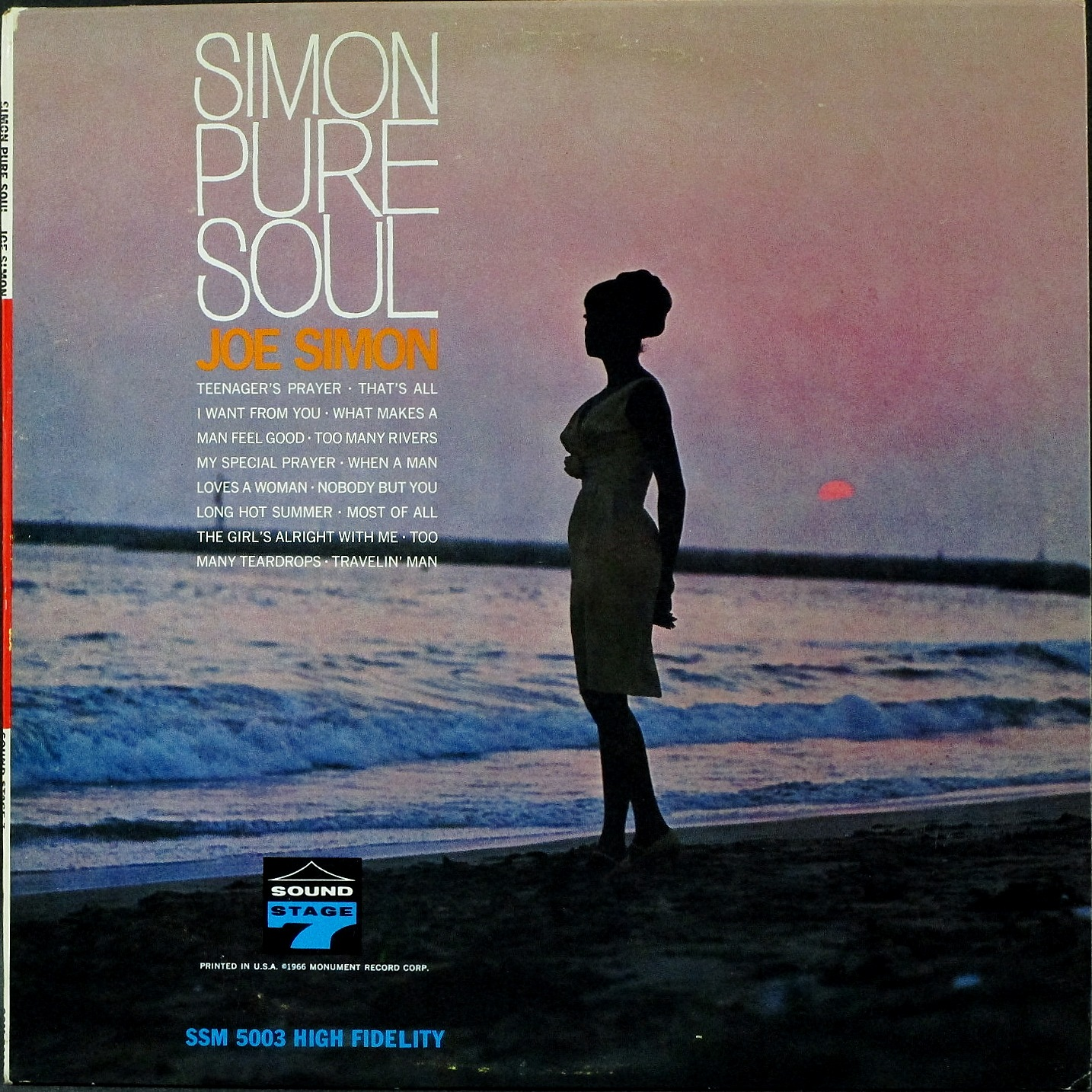 Joe Simon ジョー・サイモン / Simon Pure Soul