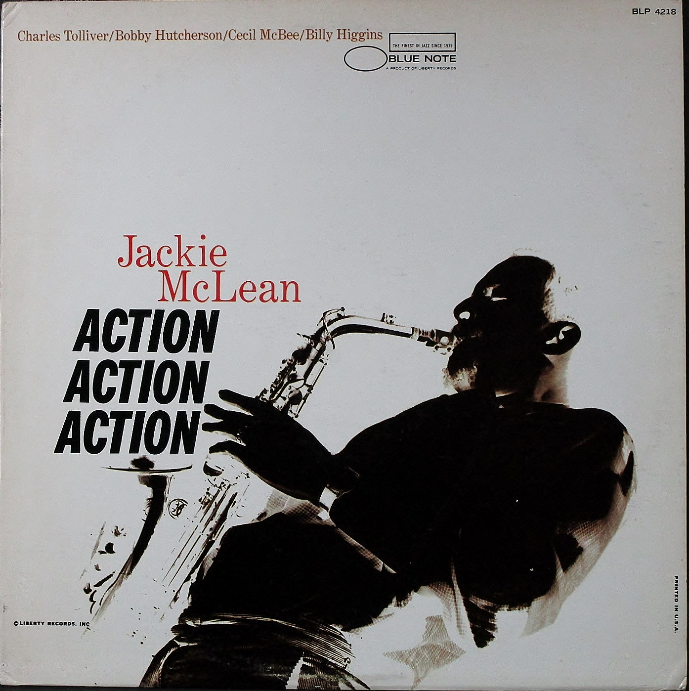 Jackie McLean ジャッキー・マクリーン / Action アクション