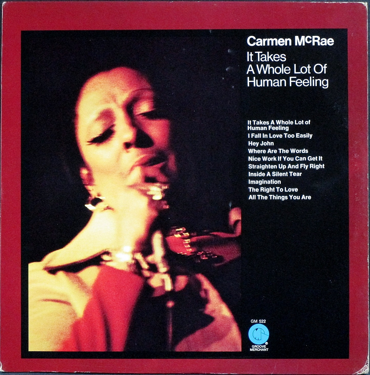 Carmen McRae カーメン・マクレア / It Takes A Whole Lot Of Human Feeling