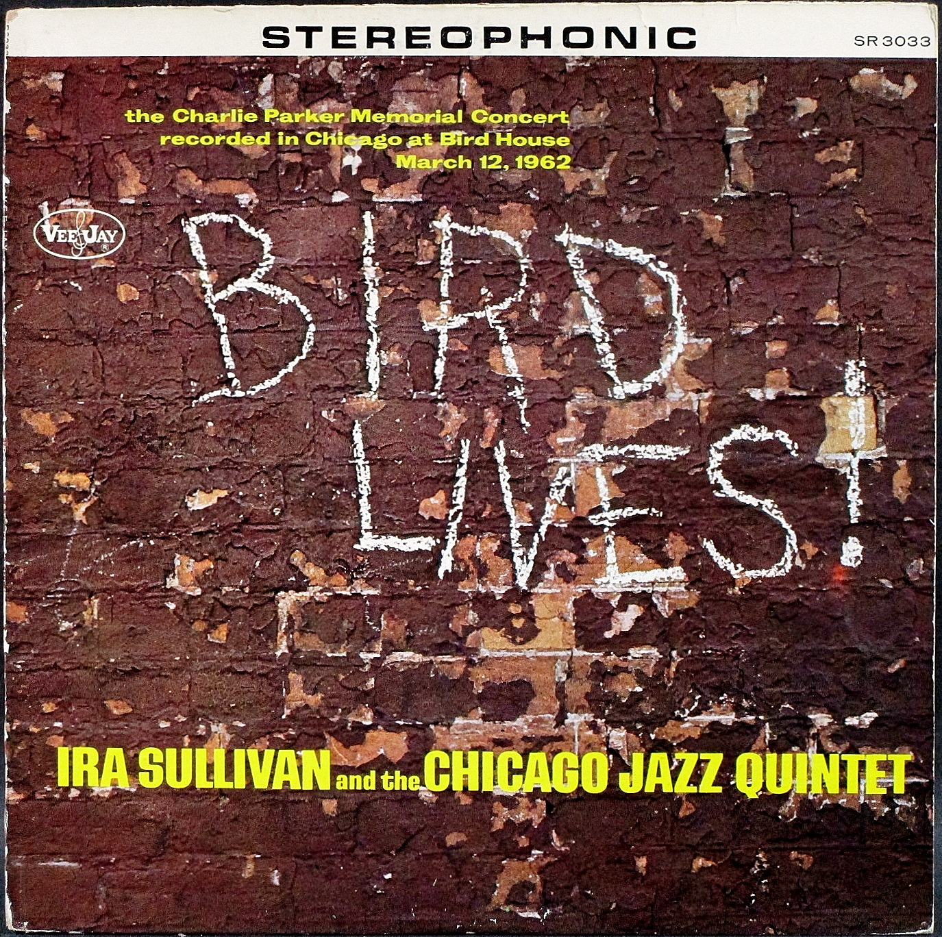 Ira Sullivan And The Chicago Jazz Quintet アイラ・サリヴァン / Bird Lives バード・ライブス