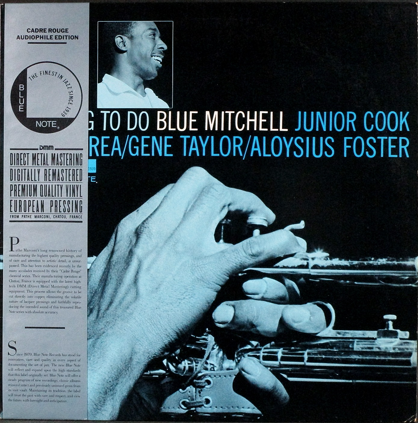 Blue Mitchell ブルー・ミッチェル / The Thing To Do ザ・シング・トゥ・ドゥ