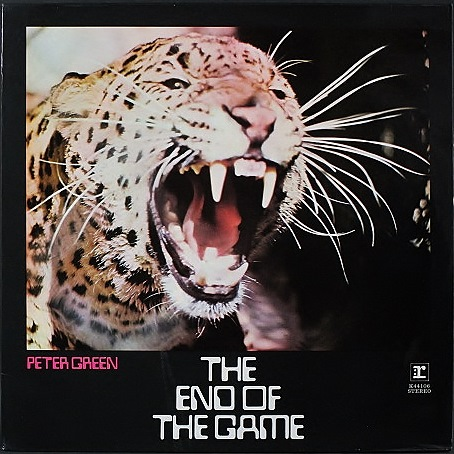 Peter Green ピーター・グリーン / The End Of The Game UK盤