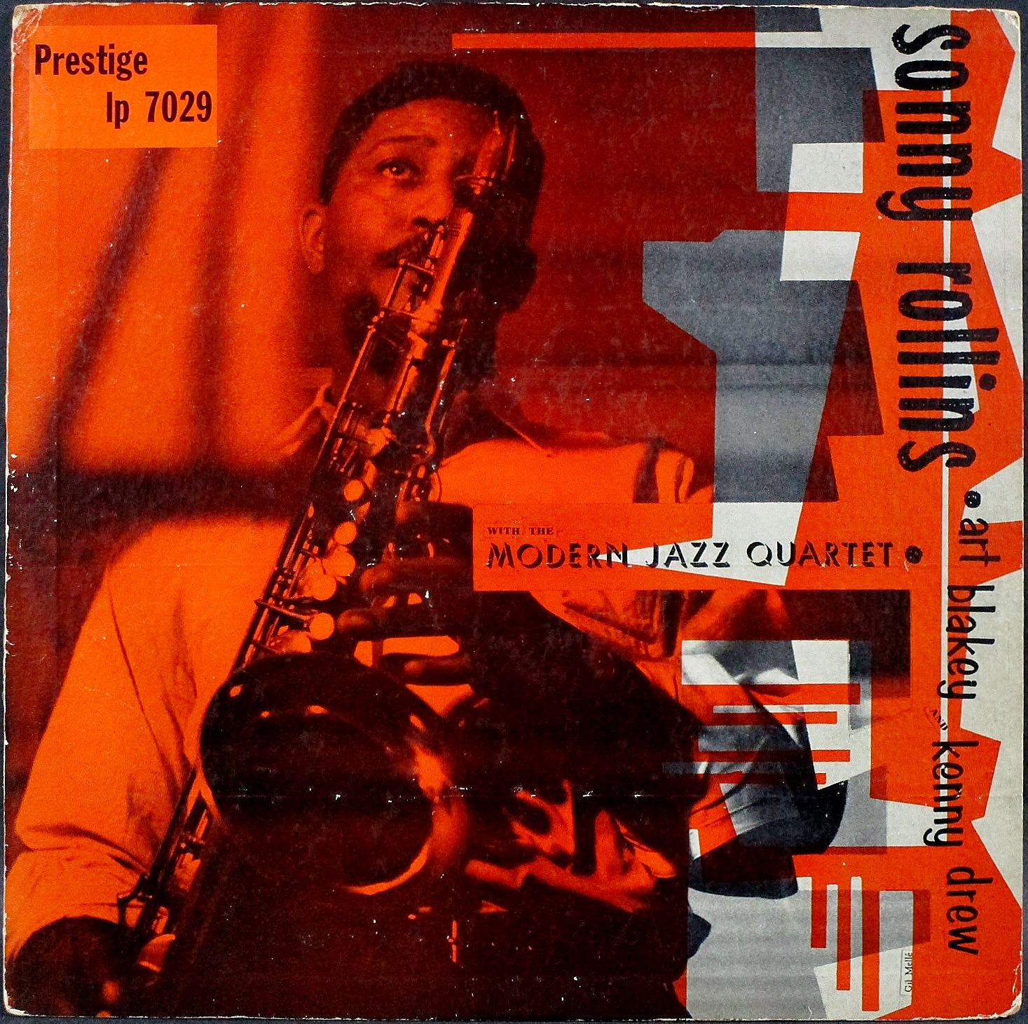 Sonny Rollins ソニー・ロリンズ / Sonny Rollins With The Modern Jazz Quartet