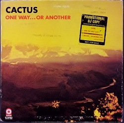 Cactus カクタス / One Way...Or Another 白プロモ