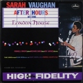Sarah Vaughan サラ・ヴォーン / After Hours At The London House