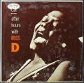 "Dinah Washington ダイナ・ワシントン / After Hours With Miss ""D"""