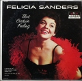 Felicia Sanders フェリシア・サンダース / That Certain Feeling