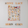 Steve Lacy - Brion Gysin スティーブ・レイシー / Songs
