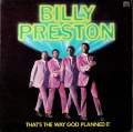 Billy Preston ビリー・プレストン / That's The Way God Planned It