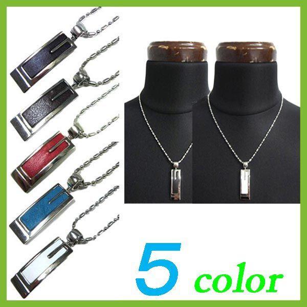レザー ネックレス メンズ ネックレス プレート レザー ネックレス レザー 革 ac,45