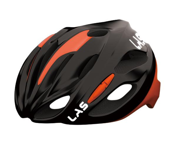 LAS KOBALTO(ラス コバルト) ヘルメット ブラックレッド