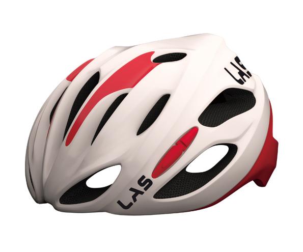 LAS KOBALTO(ラス コバルト) ヘルメット ホワイトレッド