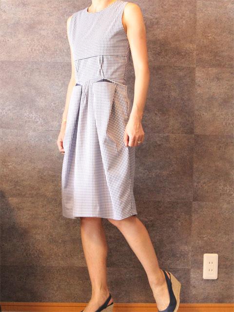 Style No. gal-074 ギンガムチェックワンピース