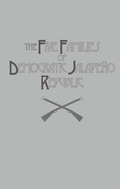 『民主ハラペーニョ共和国の五家族』【同人ボードゲーム】