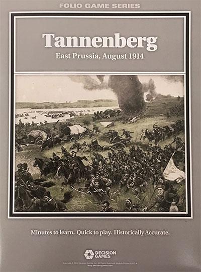 『TANNENBERG East Prussia, August 1914(タンネンベルク: 東プロシア、1914年8月)』【ルール日本語訳付】