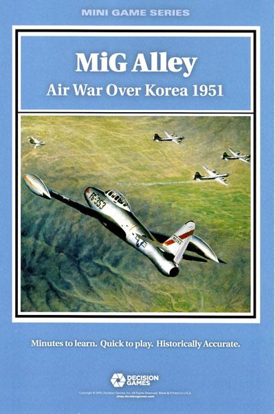 『MiG ALLEY: Air War Over Korea, 1951』【日本語ルール・カード訳付】
