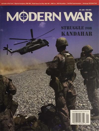 『MODERN WAR #21』【ゲームルールのみ日本語訳付】
