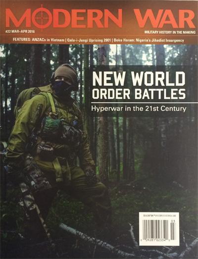 『MODERN WAR #22』【ゲームルールのみ日本語訳付】