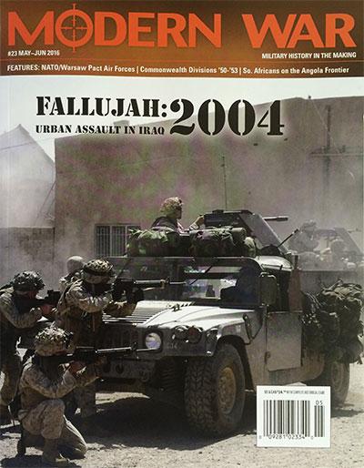 『MODERN WAR #23』【ゲームルールのみ日本語訳付】
