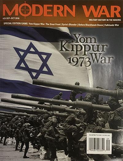 『MODERN WAR #25』【ゲームルールのみ日本語訳付】