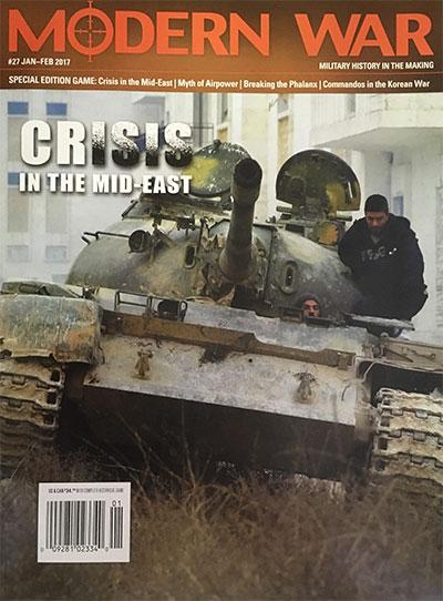 『MODERN WAR #27』【ゲームルールのみ日本語訳付】