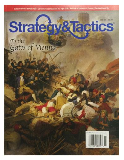 『Strategy & Tactics #295』【ゲームルールのみ日本語訳付】