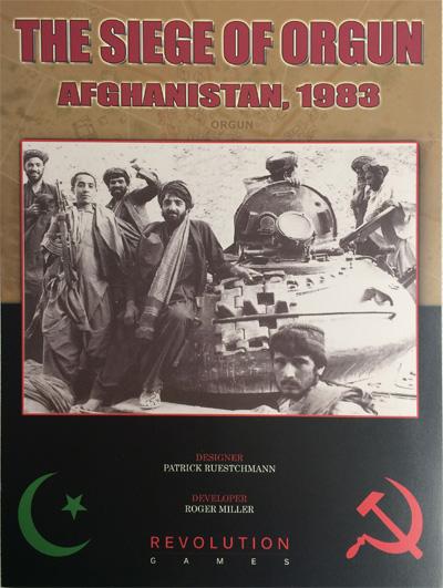 『Siege of Orgun, Afghanistan 1983』【日本語ルール・カード訳付】