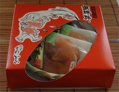 蜜珠柿 みつじゅかき 4個入(5〜10月は冷蔵便)(K5131)