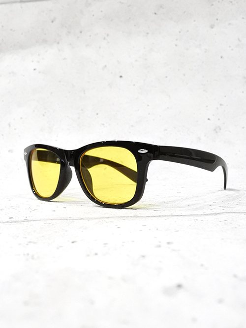 Wellington Frame Toy Sunglasses-YELLOW-