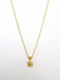 Hexagram Corona Amulet Necklace-GOLD-
