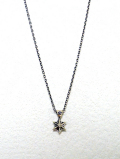 Hexagram Corona Amulet Necklace-SILVER-