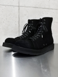 "Hi-cut Sneaker Boots""TOXIC""-ALL BLACK-"