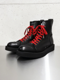 "Hi-cut Leather Sneaker Boots""TOXIC"" type P"