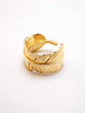 Authentic Feather Ring-GOLD-
