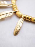 "【先行予約6月入荷商品】Feather Hook Charm""SMALL""-GOLD-"