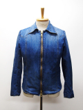 "Single Denim Jacket""WIZARD""-BLEACH-"