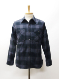 Concha Flannel Check Shirts-CHACOAL-