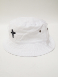 【1個までメール便可】Chimayo Cross Bucket Hat-WHITE-