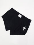【1個までメール便可】Chimayo Cross Boxer Pants-BLACK-