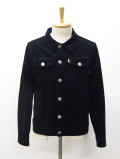 Authentic Corduloy Jacket-BLACK-