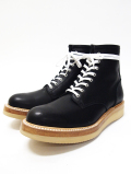 "Lace Up Logger Boots""MASTER PIECE""-BLACK-"