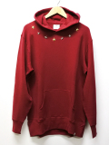Star Studs P/O Parka-RED-