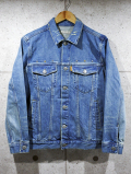 Western 3rd Denim Jacket-LIGHT INDIGO-