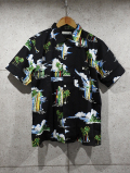 Hawaiian Shirts-BLACK-